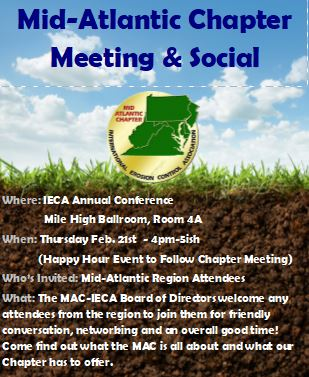 Mid-Atlantic Chapter Meeting & Social @ Colorado Convention Center  | Long Beach | California | United States