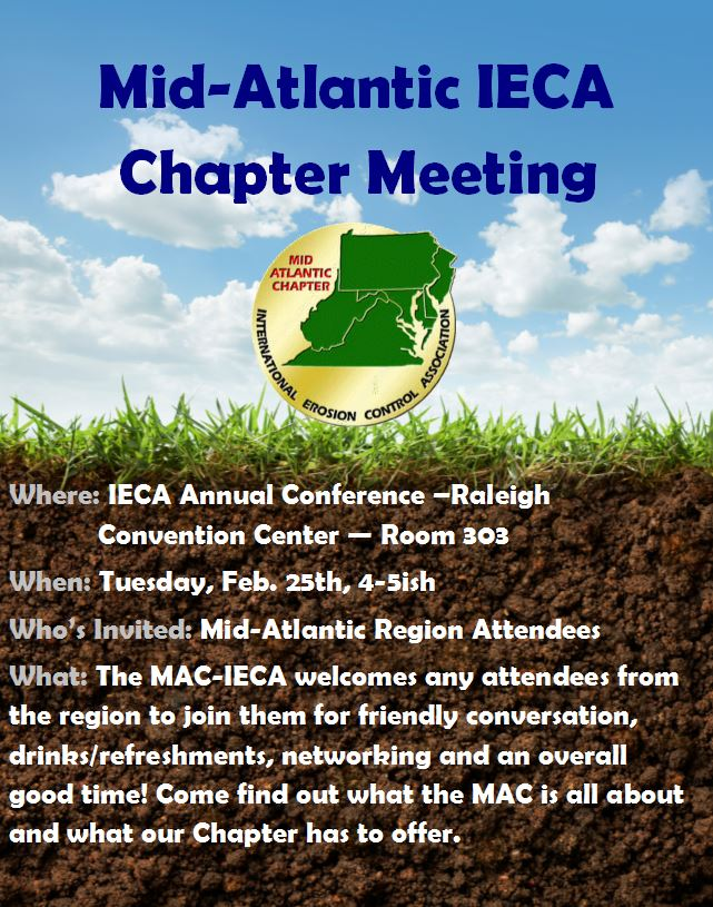 Mid-Atlantic Chapter Meeting & Social @ Raleigh Convention Center | Long Beach | California | United States