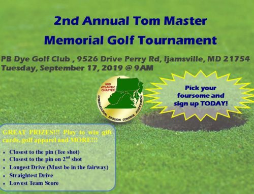 "2nd Annual ""The Master"" Memorial Golf Tournament"